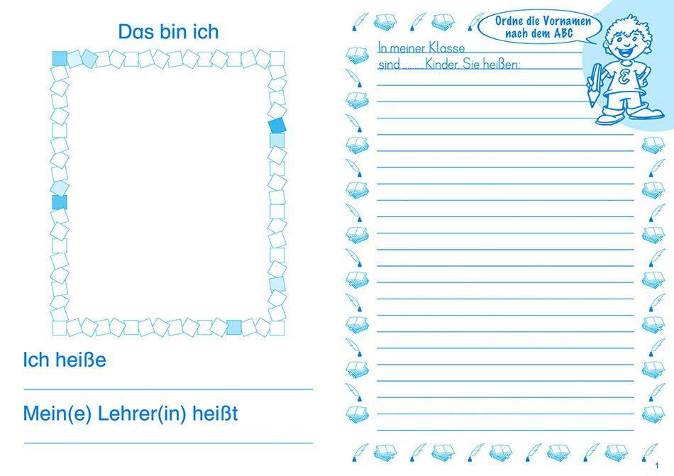 Elbi Schulheft / Schreibheft: Schreiben lernen, ABC lernen ...