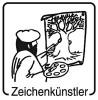 Elbi Motivstempel Kinder Holzstempel Zeichenkünstler