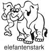 Elbi Stempel aus Holz Lehrer Motivstempel elefantenstark