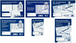 Elbi Grundausstattung zum Deutsch Schreiben lernen Klasse 1 und Flüchtlinge in Übergangsklassen oder Intensivklassen