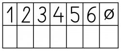Elbi Lehrerstempel - Notenspiegelstempel klein