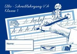 Elbi Schreiblehrgang Vereinfachte Ausgangsschrift Schreiben lernen / ABC lernen für Grundschule, Förderschule und Flüchtlinge in Übergangsklassen oder Intensivklassen