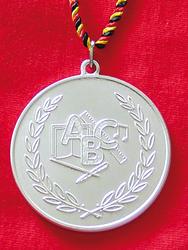 Silbermedaille ABC