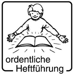 Elbi Motivstempel Kinder Holzstempel - ordentliche Heftführung