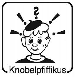 Elbi Motivstempel Kinder Holzstempel - Knobelpfiffikus