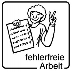Elbi Motivstempel Kinder Holzstempel - fehlerfreie Arbeit