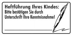Elbi Motivstempel Kinder Holzstempel - Heftführung