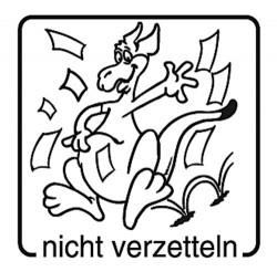 Elbi Motivstempel Kinder Holzstempel - nicht verzetteln