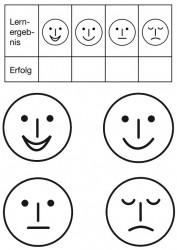 Smileyset groß 5 Stempel