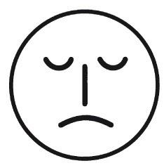 Elbi Motivstempel Kinder Holzstempel - Mimikstempel traurig