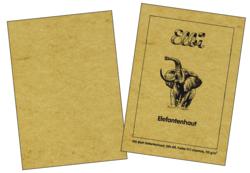 Elefantenhaut chamois 110gm² 100 Blatt - Kopieren von Urkunden Speisekarten