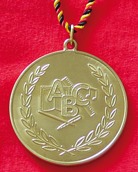 Goldmedaille - ABC