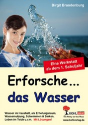 Kopiervorlagen Grundschule Sachunterricht - Wasser Klasse 1 bis 4