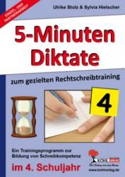 Kopiervorlagen Grundschule - Deutsch - 5-Minuten Diktate - Klasse 4