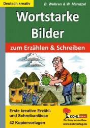 Kopiervorlagen Grundschule Deutsch Wortstarke Bilder
