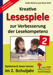 Kopiervorlagen Grundschule Kreative Lesespiele im 2. Schuljahr Deutsch Klasse 2