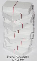 Spielkarten weiß glanzlackiert 10 Pack