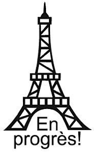 Elbi Französischstempel Lehrerstempel für die Schule - En progrès!