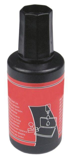 Stempelfarbe schwarz, Inhalt 27ml
