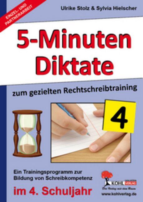 Kopiervorlagen Grundschule Deutsch 5-Minuten Diktate Klasse 4