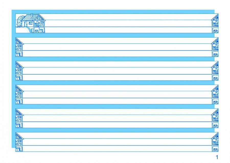 Druckschrift schreiben lernen Klasse 1 - Schreiblehrgang Druckschrift mit Übungsheft für Grundschule, Förderschule und Flüchtlinge in Übergangsklassen oder Intensivklassen