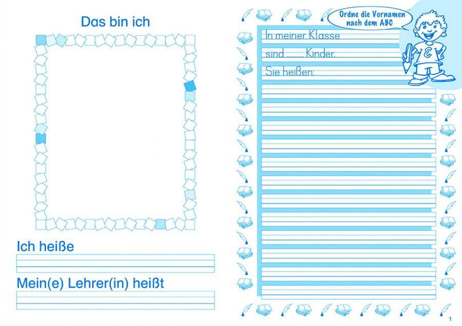 Elbi Schönschreibheft und Geschichten Klasse 2 - Jahresheft für Schönschrift und Aufsatz für Grundschule, Förderschule und Flüchtlinge in Übergangsklassen oder Intensivklassen