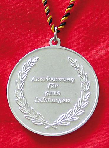 Silbermedaille - ABC