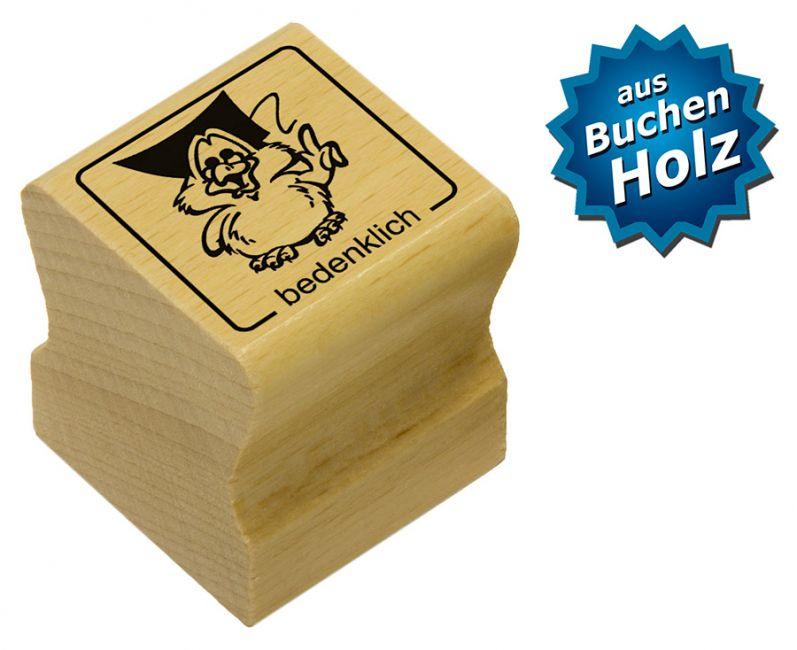 Elbi Motivstempel Kinder Holzstempel - bedenklich