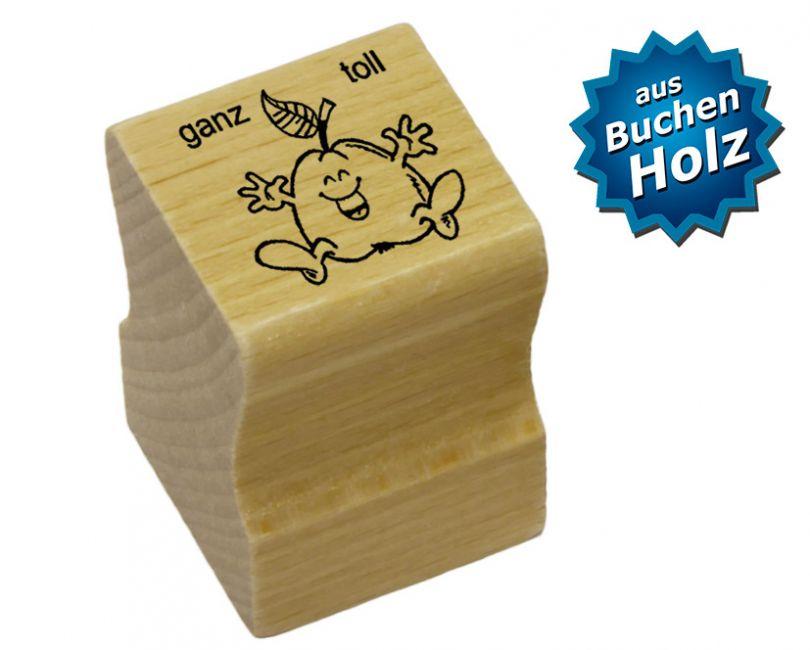 Elbi Stempel aus Holz - Lehrer Motivstempel - ganz toll