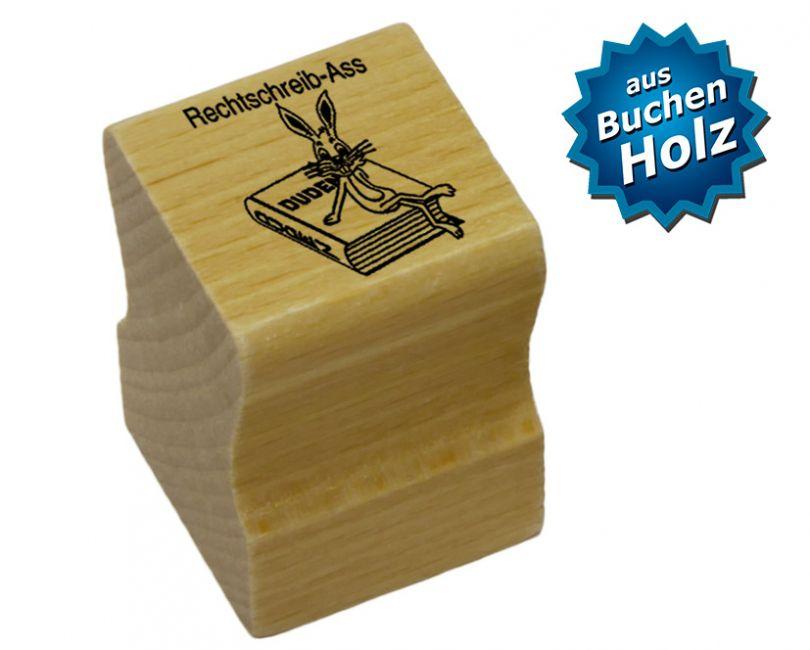 Elbi Holzstempel - Rechtschreib-Ass