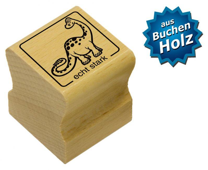 Elbi Motivstempel Kinder Holzstempel - echt stark