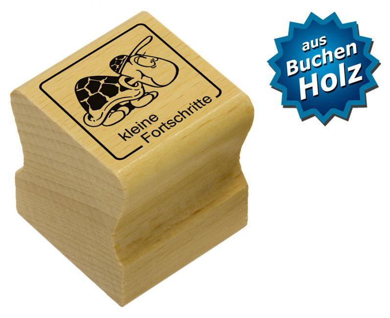 Elbi Motivstempel Kinder Holzstempel - kleine Fortschritte
