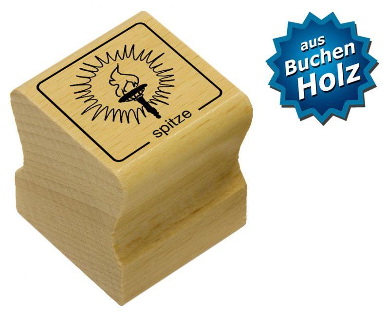 Elbi Motivstempel Kinder Holzstempel - spitze