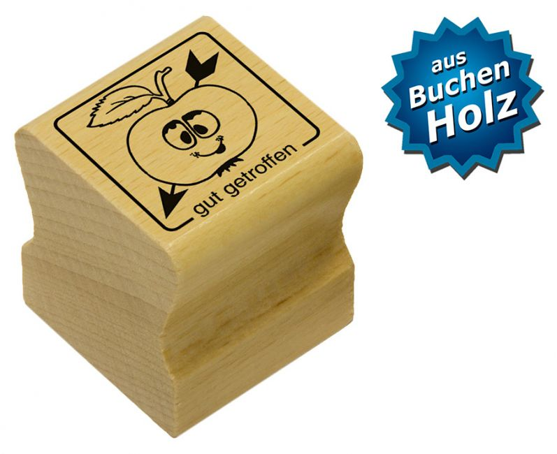 Elbi Motivstempel Kinder Holzstempel - gut getroffen
