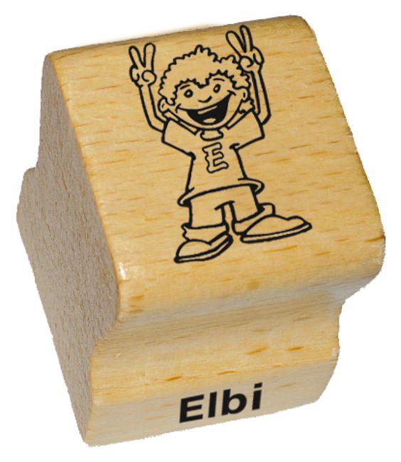 Elbi Holzstempel Sieg Lehrerstempel - Sieger Motivstempel victory victoire champion