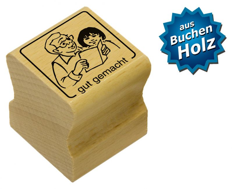 Elbi Motivstempel Kinder Holzstempel - gut gemacht