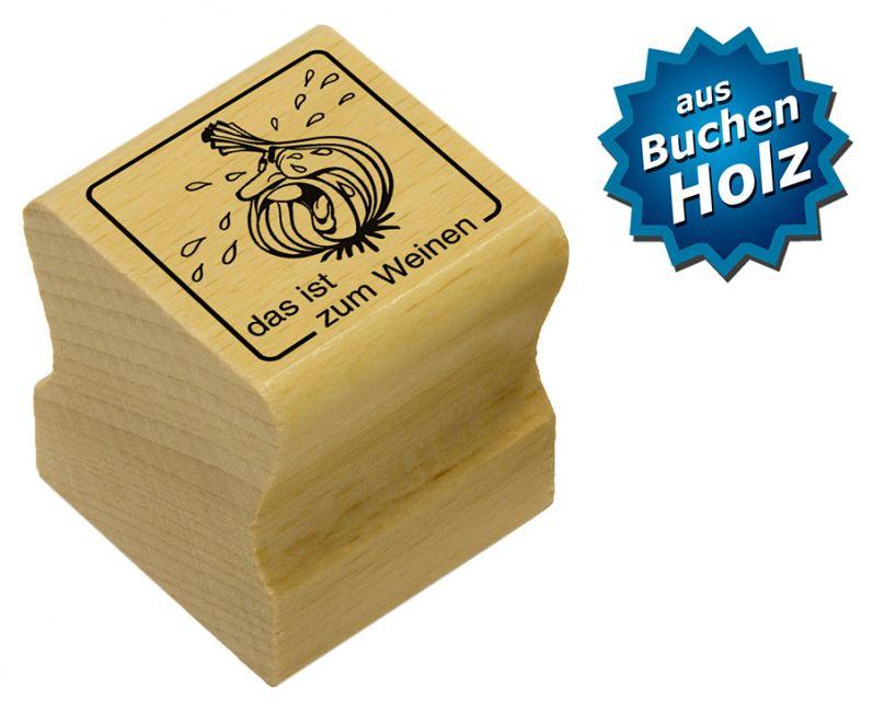 Elbi Motivstempel Kinder Holzstempel - das ist zum Weinen