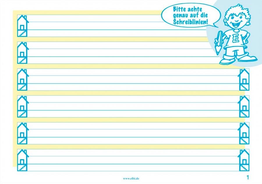 Mit Elbi Schreiben lernen Klasse 1