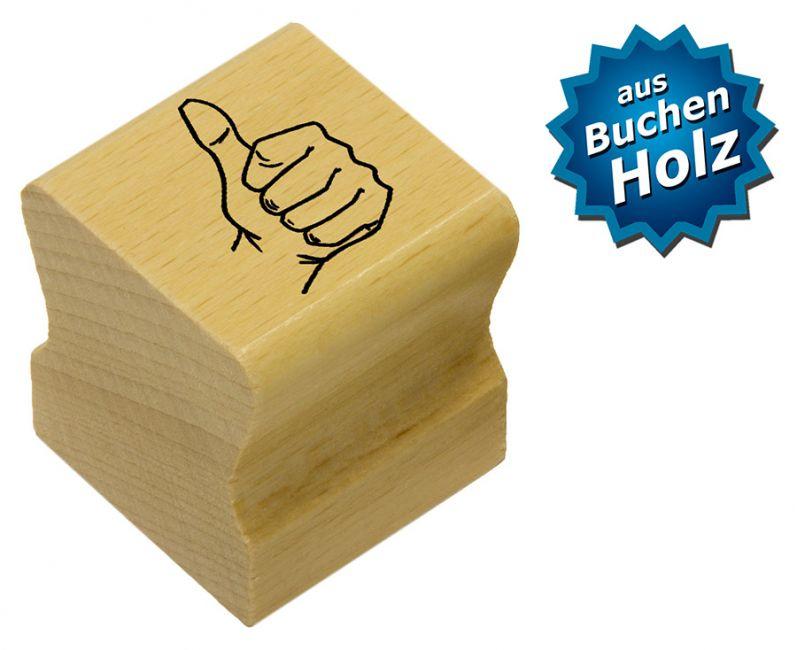 Elbi Motivstempel Kinder Holzstempel - Daumenstempel