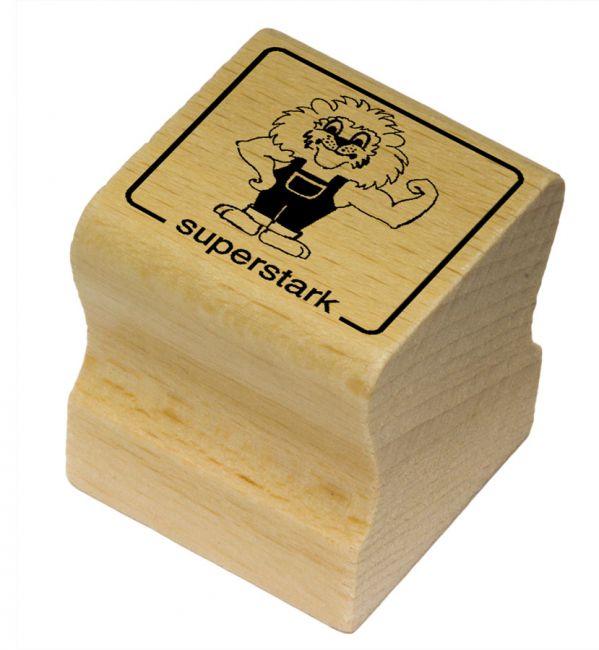 Elbi Motivstempel Kinder Holzstempel - superstark
