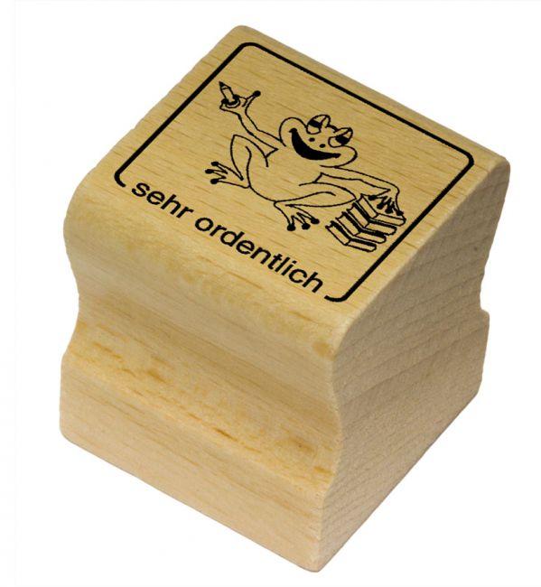 Elbi Motivstempel Kinder Holzstempel - sehr ordentlich