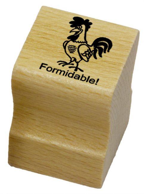 Elbi Französischstempel Lehrerstempel für die Schule - Formidable!
