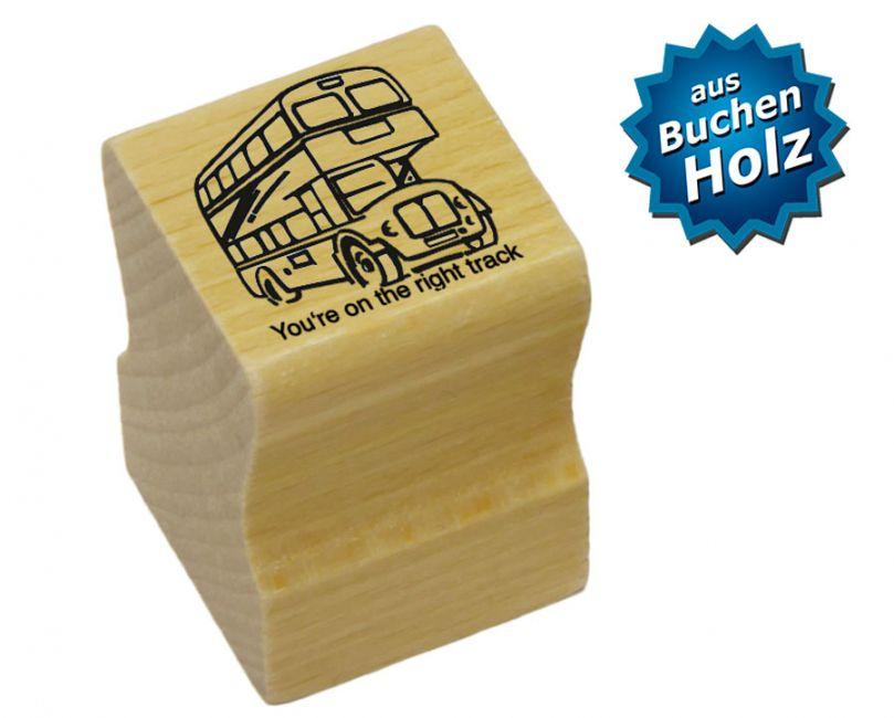 Elbi Lehrerstempel Stempelset mit Motiv - 4 x Englischstempel