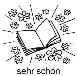 Elbi Lehrerstempel Stempelset mit Motiv - 4 x Stempel zur Heftführung