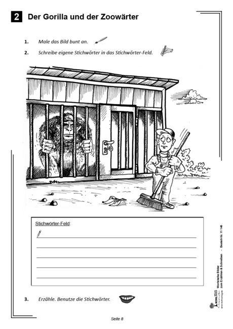Kopiervorlagen Grundschule Deutsch - Wortstarke Bilder
