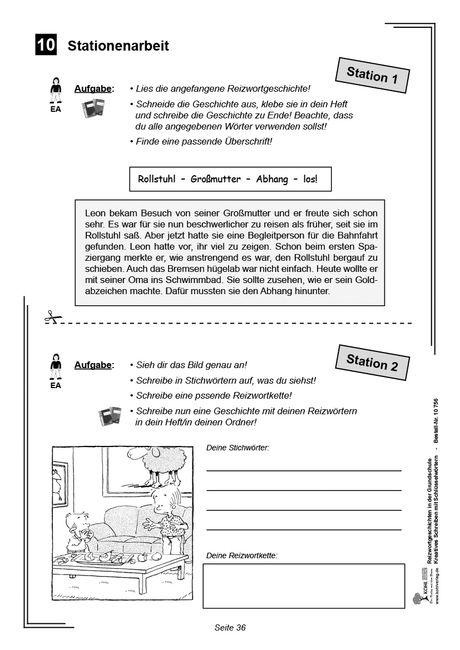 kopiervorlagen grundschule deutsch klasse 3 und 4