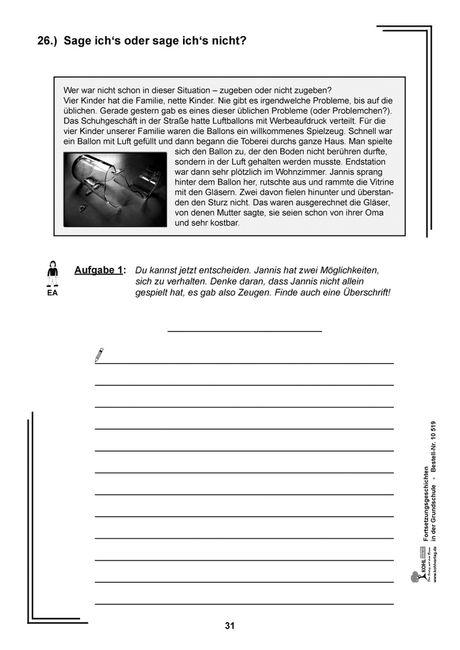 Bericht schreiben klasse