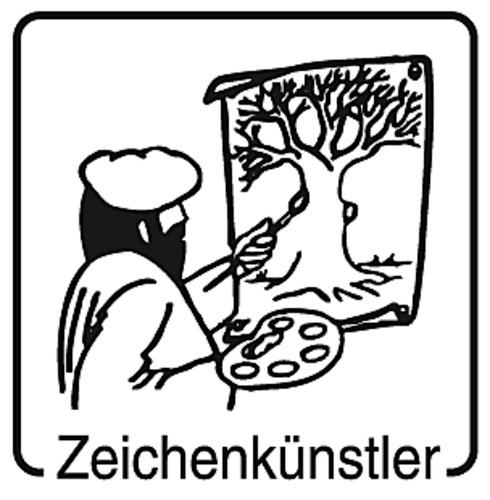 Elbi Lehrerstempel Stempelset aus Holz - Belobigungsstempel Set 1